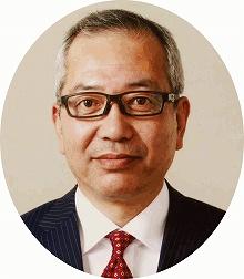 Town mayor of Taiki Masato Sakamori