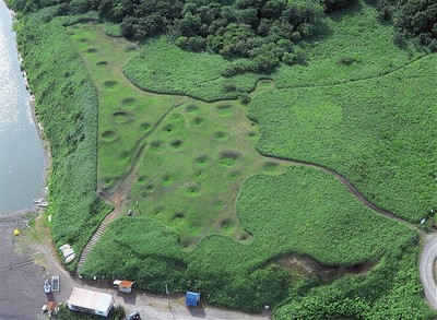ホロカヤントー竪穴式住居群1